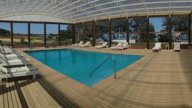 Cabañas con piscina temperada en Pichilemu